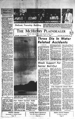 McHenry Plaindealer (McHenry, IL), 14 Jul 1982