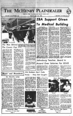 McHenry Plaindealer (McHenry, IL), 23 Jul 1982