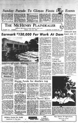 McHenry Plaindealer (McHenry, IL), 30 Jul 1982