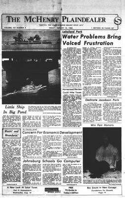 McHenry Plaindealer (McHenry, IL), 13 Aug 1982
