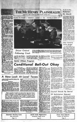McHenry Plaindealer (McHenry, IL), 18 Aug 1982