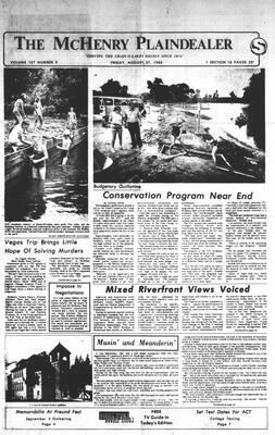 McHenry Plaindealer (McHenry, IL), 27 Aug 1982