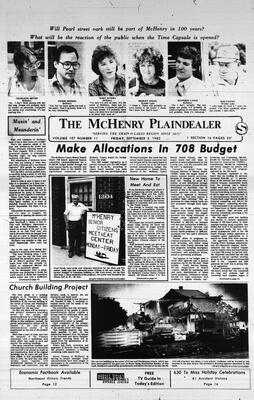 McHenry Plaindealer (McHenry, IL), 3 Sep 1982
