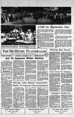 McHenry Plaindealer (McHenry, IL), 15 Sep 1982