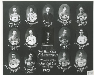 Club de balle molle, 1927 / Softball club, 1927