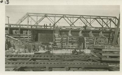 Construction du barrage / Dam Construction