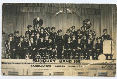 Fanfare de Sudbury, 1951 / Sudbury Band, 1951