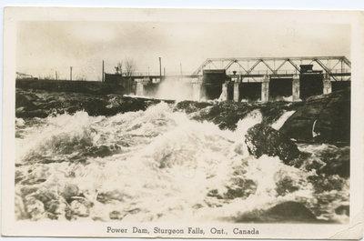 Barrage hydro-électrique, Sturgeon Falls / Power Dam, Sturgeon Falls