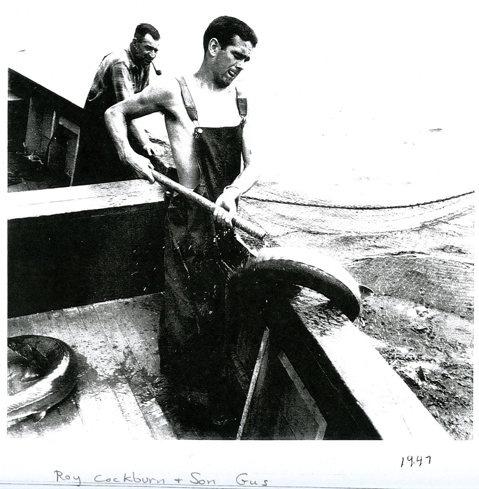 Roy & Gus Cockburn
