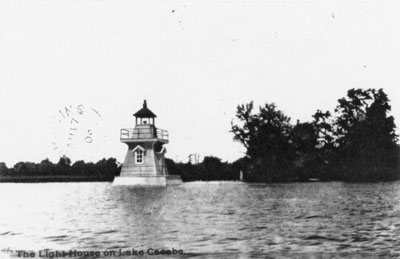 Lighthouse on Lake Cecebe