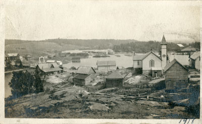 View of the Village of Magnetawan, 1918