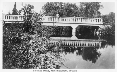 Distress Bridge, Near Magnetawan, circa 1920