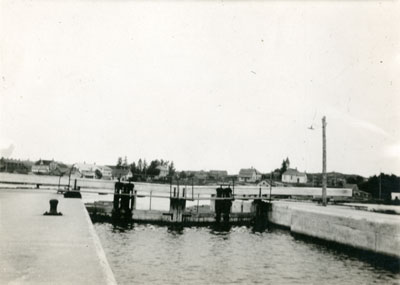 Closed Magnetawan Locks, circa 1920