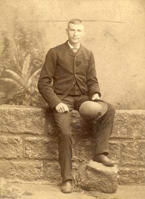 Young John Arthurs Jr, circa 1900