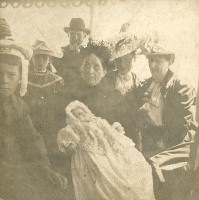Christening of Lillie May Arthurs, circa 1903