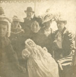 Christening of Lillie May Arthurs, circa 1903