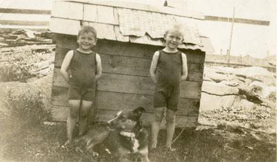 Mick and Ralph Grunig, 1924