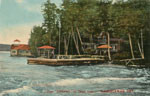 Collage 'Blythwood', Ahmic Lake, circa 1900