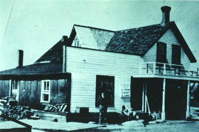 Harry Q. Snugg's Store, circa 1910