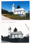 Early and Modern Anglican Churches, Magnetawan, circa 1920 and 1997