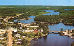 Birds Eye View of Magnetawan, 1960