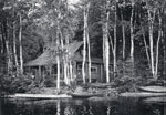 A Cottage at the Waters Edge, circa 1910