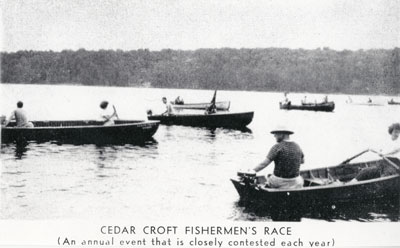 Cedar Croft Fishermen's Race, circa 1920
