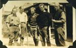 Findley Lloyd, Howard Kelly Jr., Fritz Kelly, Byrom Hilliard, and Edmund Kelly, circa 1930