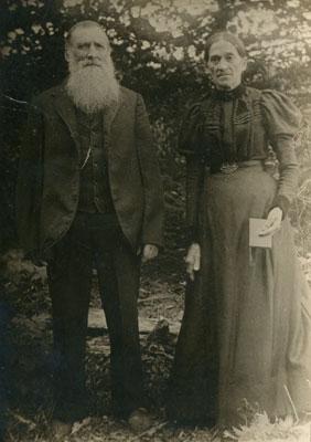 Mr and Mrs Abram Sugden, 1910