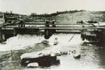 Wooden Water Dam, Magnetawan, circa 1900