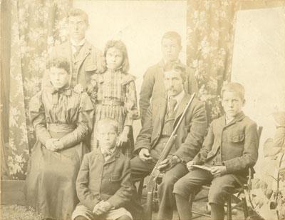 Philips Family Portrait, circa 1867