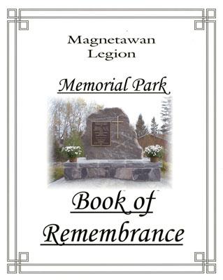 Magnetawan Legion Book of Remembrance