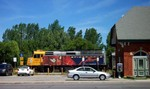 Bridge Street, 4267 - VIA Rail Canada Train Station - Train number 6424