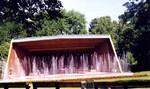 Bandshell at Queenston Heights ready for a Sunday afternoon concert