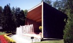 Bandshell at Queenston Heights - side view