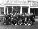 English newspapermen and Niagara Falls' officials at the Clifton Hotel