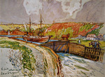 Welland Ship Canal - First Welland Canal