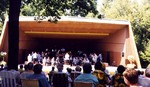 Bandshell at Queenston Heights - Sunday afternoon concert