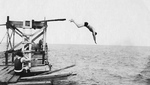 Crystal Beach Diving Tower - ca 1930's