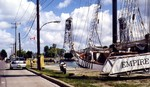 Welland Ship Canal - Tall ship Empire Sandy at Port Colborne - Canal Days