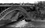 Official guide to Niagara - Outlet of the Great Tunnel, Upper Steel Arch Bridge
