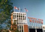 The Niagara Falls Museum at the corner of Hiram Street and the Niagara Parkway