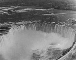 Aerial view of the Horseshoe Falls Niagara Falls Ontario