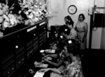 City Wide Telephone Services - switchboard operators at opening of the Niagara Falls branch