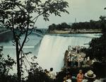 Niagara Falls - American Falls & Rainbow Bridge From Goat Island