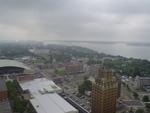 Aerial View of Niagara Falls, New York