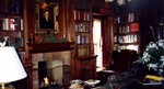 Oban Inn - interior view of the library ready for opening day of the new building