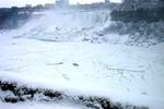American Falls with ice bridge