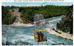 Aero Cable over Whirlpool Rapids Niagara Falls [Spanish Aero Car]