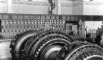 Ontario Power Company Generating Station - no. 3 main alternating current exciter and exciter switchboard